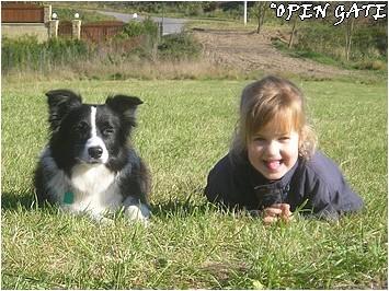 Daisy & Evička, 01. 11. 07, photo © Blanka Malinská