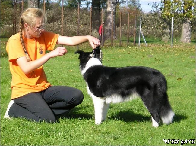 Jana & Arty, 13. 10. 2007, photo © B. Malinská