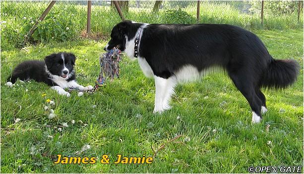 James & Jamie (Burn In Hell & Another Girl) na Krásné louce v Mladé Boleslavi, 09. 05. 2009, foto © Jana Malinská